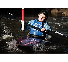 S&S Canoe Club | Div 3&4 Slalom | March 2015 | 030 Photographic Print