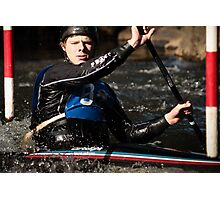 S&S Canoe Club | Div 3&4 Slalom | March 2015 | 031 Photographic Print