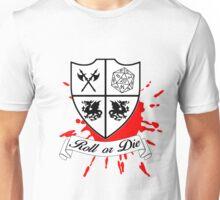 Roll or Die (white) Unisex T-Shirt