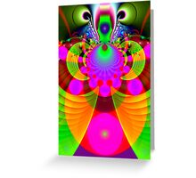 Alien insect Greeting Card