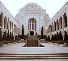 Australian War Memorial (Mono) by Clive