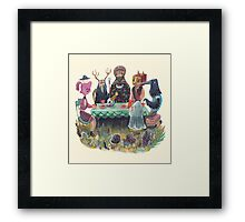 The art of ruining conversation at parties Framed Print