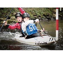 S&S Canoe Club | Div 3&4 Slalom | March 2015 | 034 Photographic Print