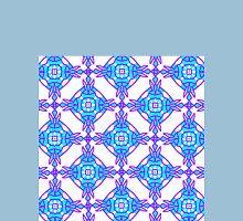 Mirrorart Pattern 3 (MP1) Womens Fitted T-Shirt