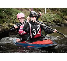 S&S Canoe Club | Div 3&4 Slalom | March 2015 | 035 Photographic Print