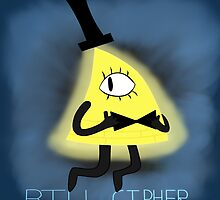 Gravity Falls- Bill Cipher by Chillaid