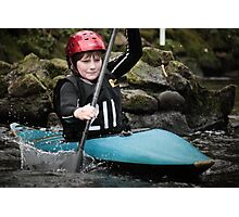 S&S Canoe Club | Div 3&4 Slalom | March 2015 | 036 Photographic Print