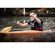 S&S Canoe Club | Div 3&4 Slalom | March 2015 | 039 Photographic Print