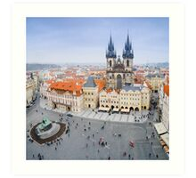 Old Town Square, Prague, Czech Republic Art Print