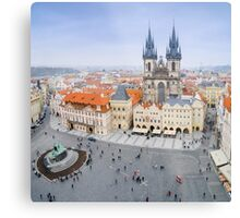 Old Town Square, Prague, Czech Republic Metal Print