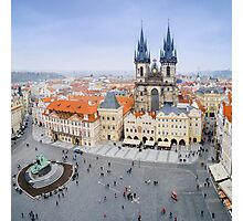 Old Town Square, Prague, Czech Republic Photographic Print