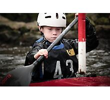 S&S Canoe Club | Div 3&4 Slalom | March 2015 | 044 Photographic Print