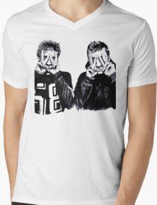 Joseph and Dun Mens V-Neck T-Shirt