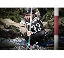 S&S Canoe Club | Div 3&4 Slalom | March 2015 | 045 Photographic Print