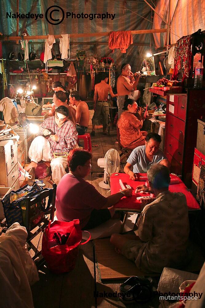 Backstage by Jamie Budd by mutantspace