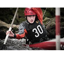 S&S Canoe Club | Div 3&4 Slalom | March 2015 | 046 Photographic Print