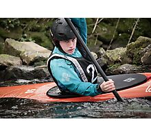 S&S Canoe Club | Div 3&4 Slalom | March 2015 | 048 Photographic Print