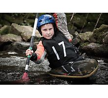 S&S Canoe Club | Div 3&4 Slalom | March 2015 | 050 Photographic Print