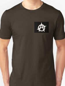 Black And White Anarchy  Unisex T-Shirt