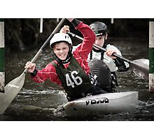 S&S Canoe Club | Div 3&4 Slalom | March 2015 | 053 Photographic Print