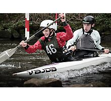 S&S Canoe Club | Div 3&4 Slalom | March 2015 | 054 Photographic Print