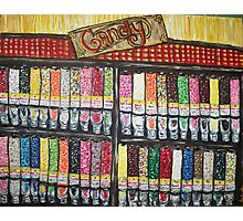 """""""Skewed Candy Store"""" Photographic Print"""