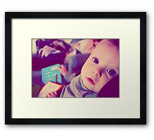You are a marvel. Framed Print