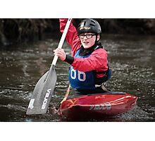 S&S Canoe Club | Div 3&4 Slalom | March 2015 | 056 Photographic Print