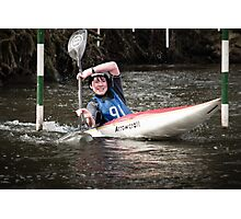 S&S Canoe Club | Div 3&4 Slalom | March 2015 | 057 Photographic Print