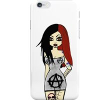 Ann Arkist Cartoon  iPhone Case/Skin