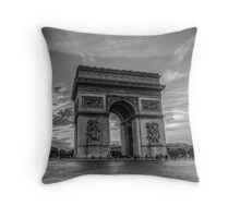 Arc De Triomphe 6 Throw Pillow