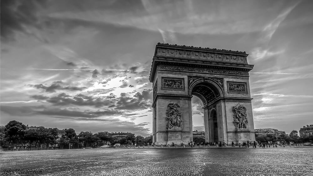 Arc De Triomphe 6 by John Velocci