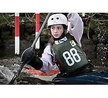 S&S Canoe Club | Div 3&4 Slalom | March 2015 | 061 Photographic Print