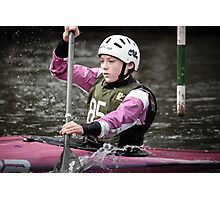 S&S Canoe Club | Div 3&4 Slalom | March 2015 | 062 Photographic Print