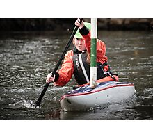 S&S Canoe Club | Div 3&4 Slalom | March 2015 | 064 Photographic Print