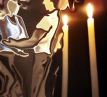 candles burning in the wind... by erano