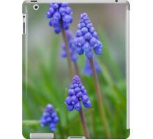 Grape Hyacinth (Muscari) iPad Case/Skin