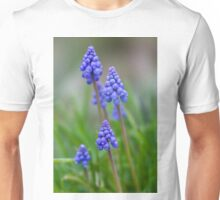 Grape Hyacinth (Muscari) Unisex T-Shirt