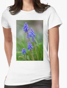 Grape Hyacinth (Muscari) Womens Fitted T-Shirt