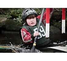 S&S Canoe Club | Div 3&4 Slalom | March 2015 | 065 Photographic Print