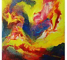 """Escapism"" original abstract artwork Photographic Print"