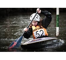 S&S Canoe Club | Div 3&4 Slalom | March 2015 | 066 Photographic Print