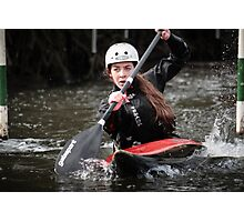 S&S Canoe Club | Div 3&4 Slalom | March 2015 | 068 Photographic Print