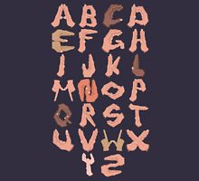 Alphabet with Hands Unisex T-Shirt