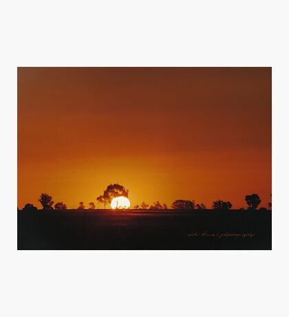 Big Western Sun © Vicki Ferrari Photographic Print