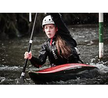 S&S Canoe Club | Div 3&4 Slalom | March 2015 | 069 Photographic Print