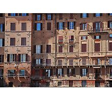 Buildings in Siena Photographic Print