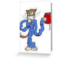 mister fantastic Greeting Card