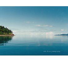 Coral Sea Glass Whitsunday Passage © Vicki Ferrari Photographic Print