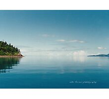 Coral Sea Glass Whitsunday Passage © Vicki Ferrari Photographic Print